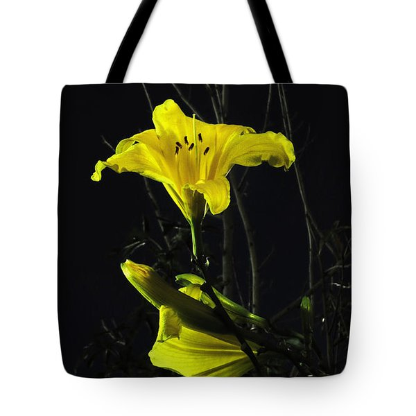 Lilly In The Evening Tote Bag