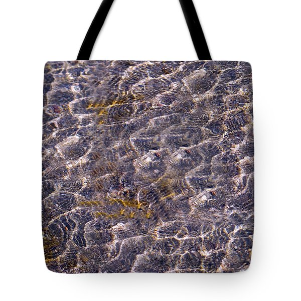 Lilly Lake Tote Bag by Mark Ivins