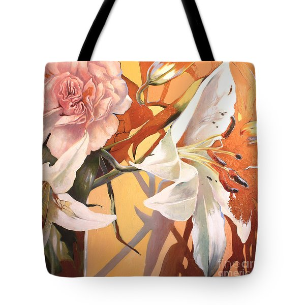 Lilly Melange Tote Bag