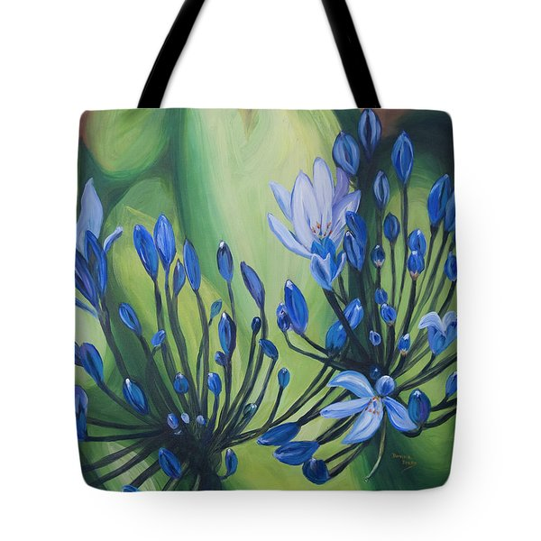 Lilly Of The Nile Tote Bag