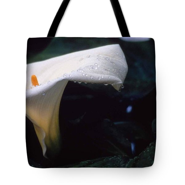 Lilly Of The Tears Tote Bag by Laurie Paci