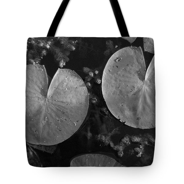 Lilly Pad Symmetry  Tote Bag by Trish Hale