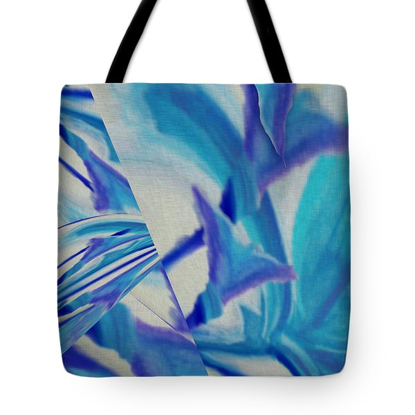 Lily Abstract #1 Tote Bag