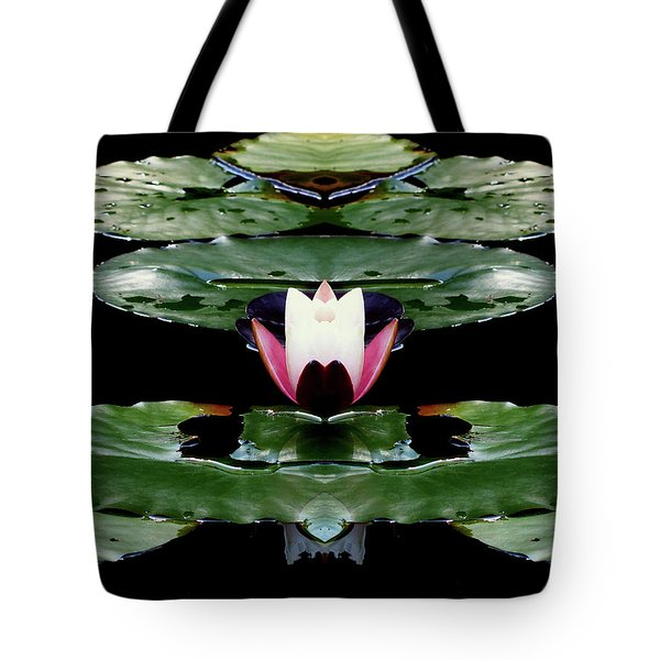 Lily Candle Tote Bag