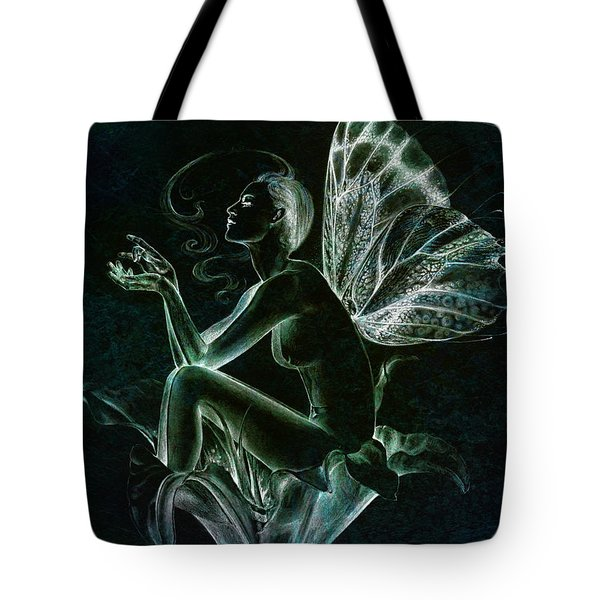 Tote Bag featuring the painting Lily Fay by Ragen Mendenhall