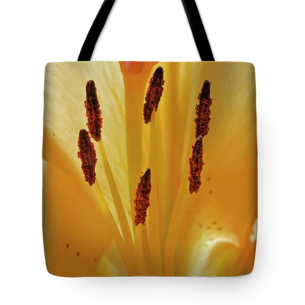 Lily Forest Tote Bag by Gwyn Newcombe