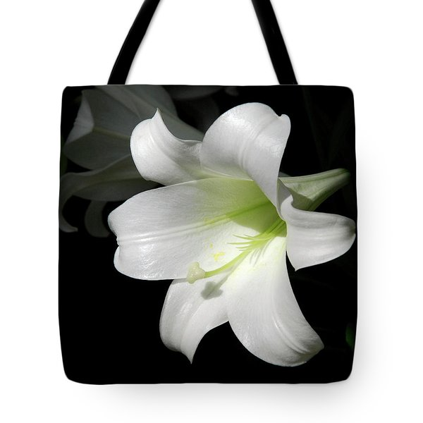 Lily In The Light Tote Bag