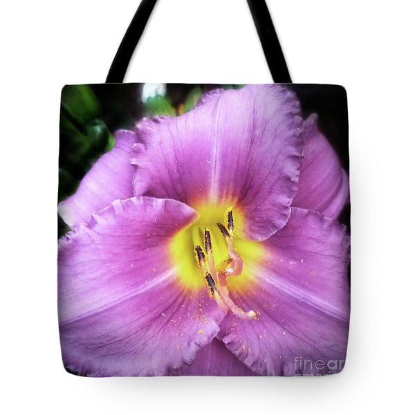 Lily In The Shade Tote Bag