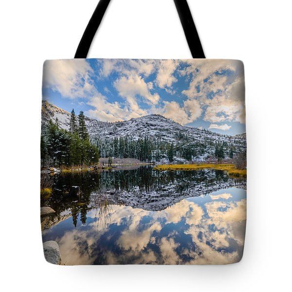 Lily Lake Tote Bag