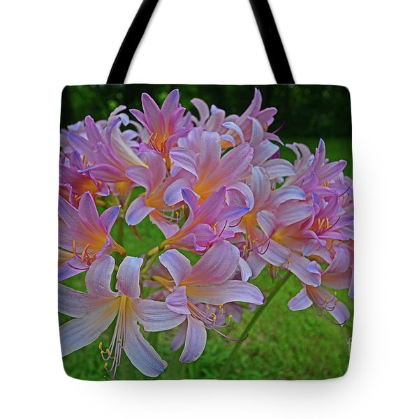 Lily Lavender Tote Bag