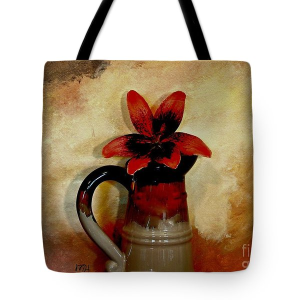 Lily Lovely Tote Bag by Marsha Heiken