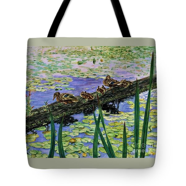 Lily Marsh Family Tote Bag