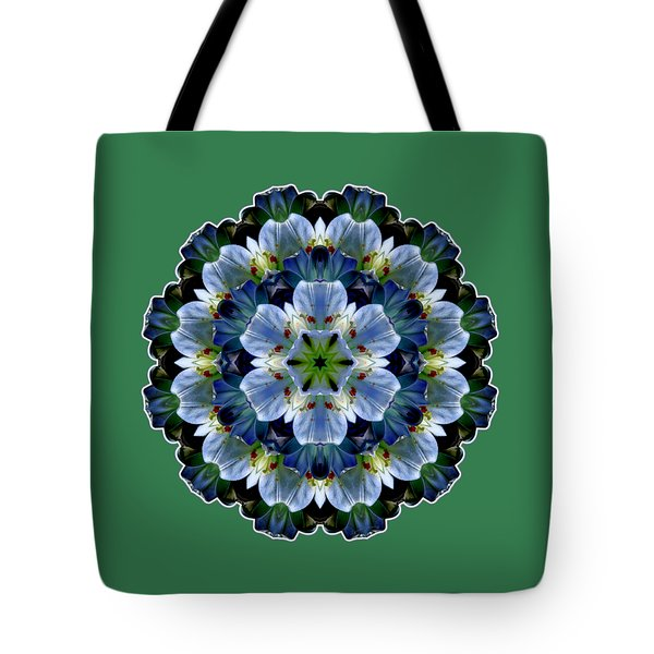 Lily Medallion Tote Bag
