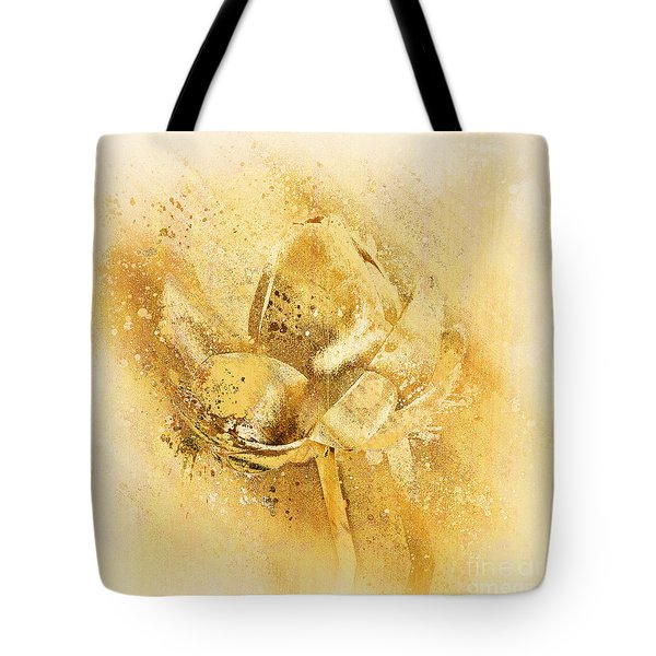 Tote Bag featuring the digital art Lily My Lovely - S114sqc75v2 by Variance Collections