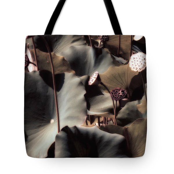Lily Of The Lake By Mike Hope Tote Bag