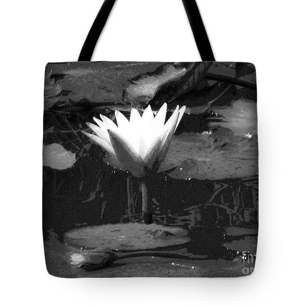 Lily Of The Lake Tote Bag