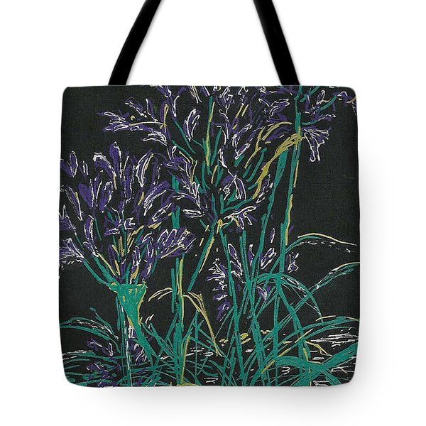 Tote Bag featuring the mixed media Lily Of The Nile  by Vicki  Housel