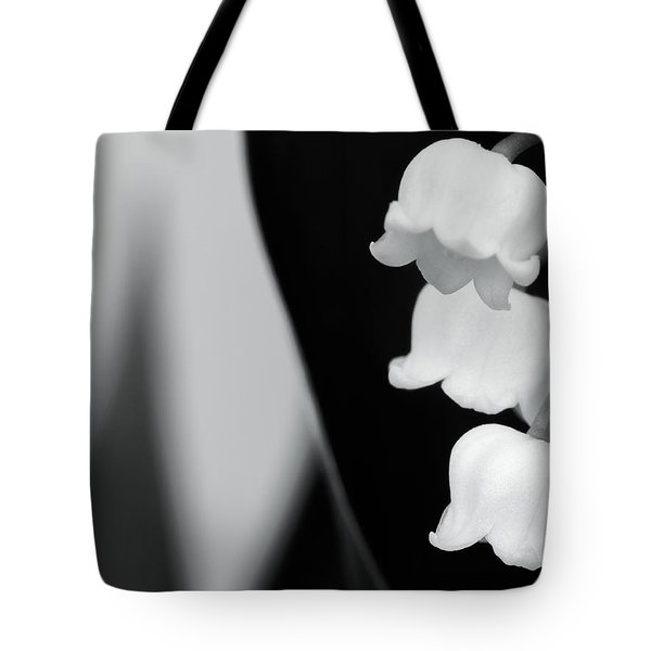 Lily Of The Valley Abstract Tote Bag
