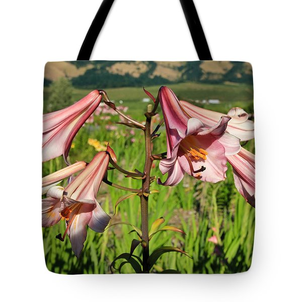 Lily Of The Valley Tote Bag by Athena Mckinzie