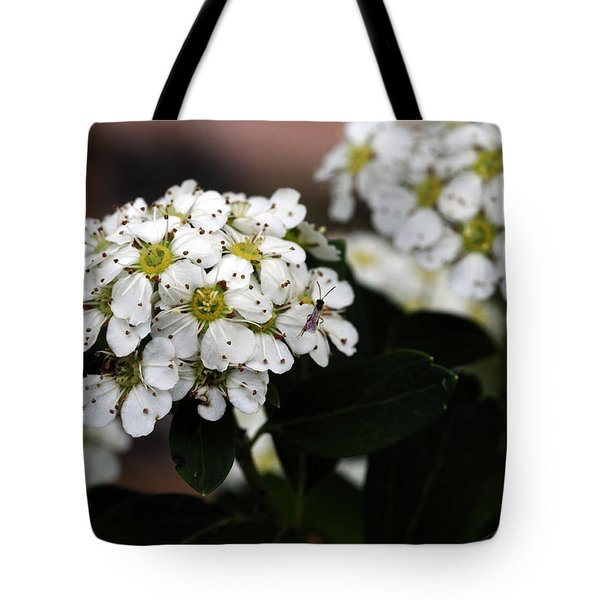 Lily Of The Valley Bush Tote Bag by Wanda Brandon