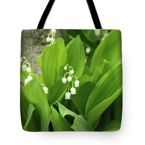 Tote Bag featuring the photograph Lily Of The Valley by Cristina Stefan