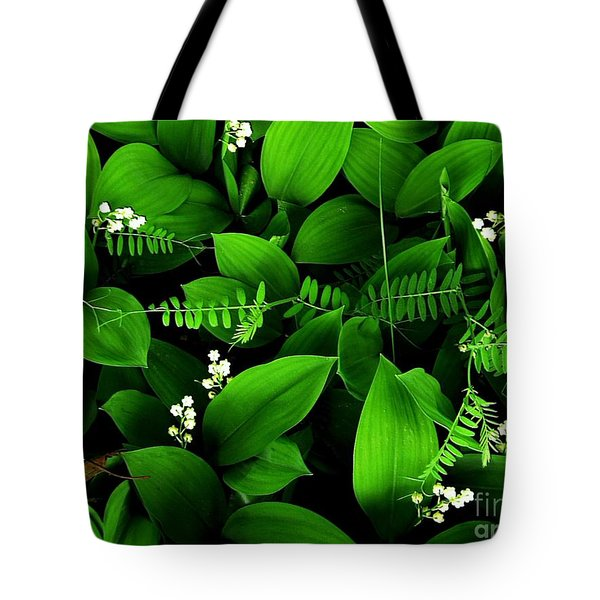 Lily Of The Valley Tote Bag by Elfriede Fulda