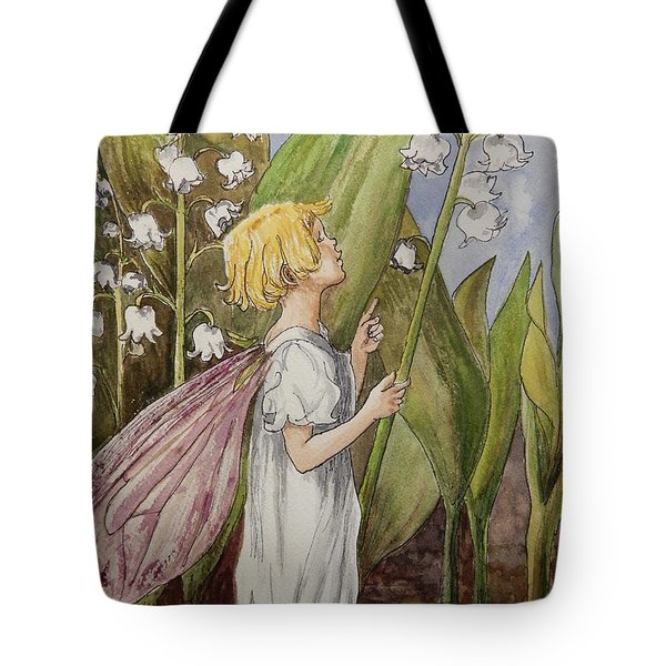 Lily Of The Valley Fairy After Cicely Mary Barker Tote Bag