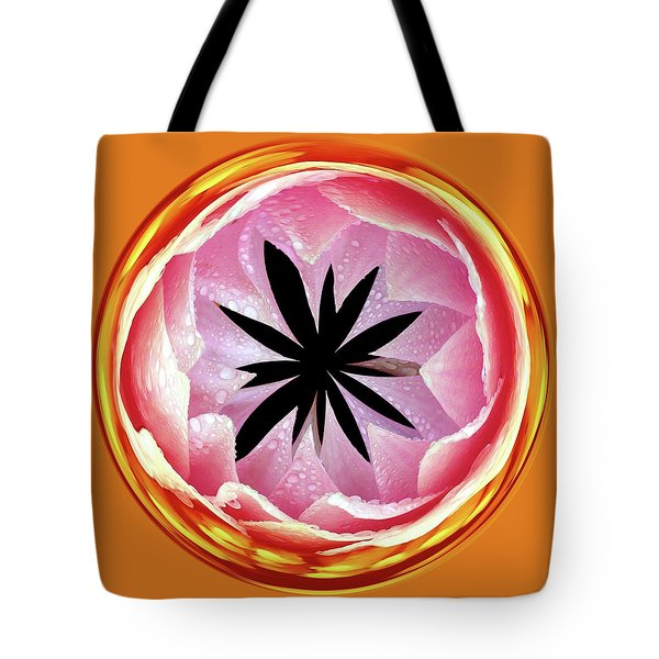 Tote Bag featuring the photograph Lily Orb by Bill Barber