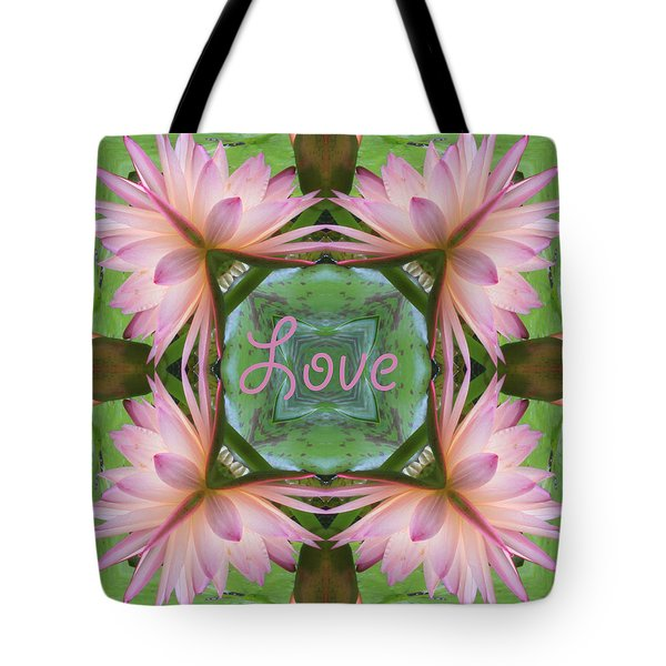 Lily Pad Love Tote Bag