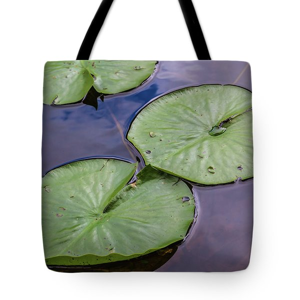 Lily Pad Reflections Tote Bag