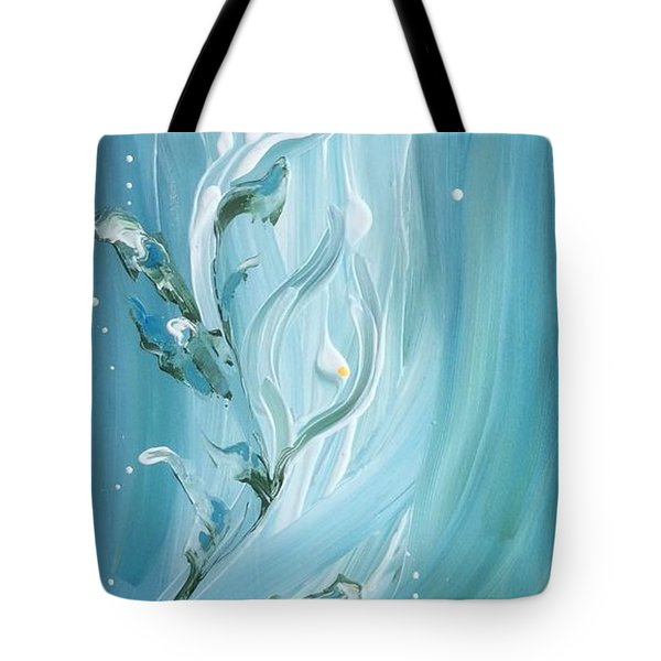 Lily Tote Bag by Pat Purdy