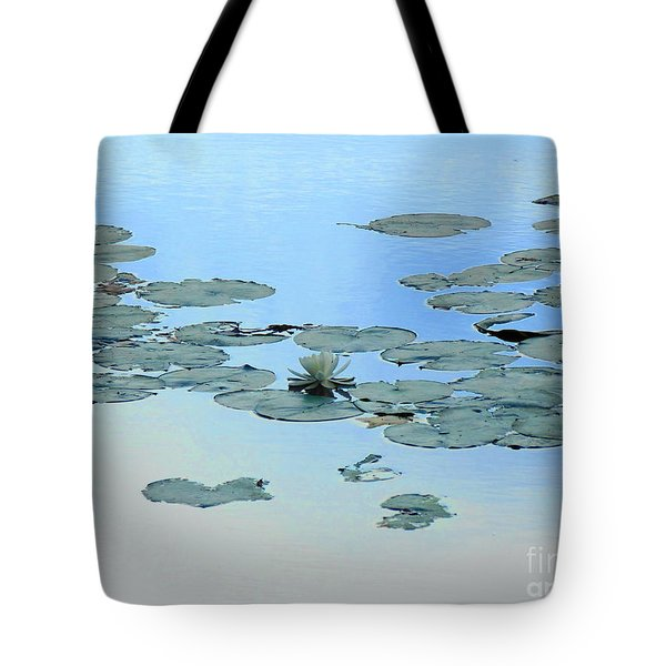 Lily Pond Tote Bag by Daun Soden-Greene