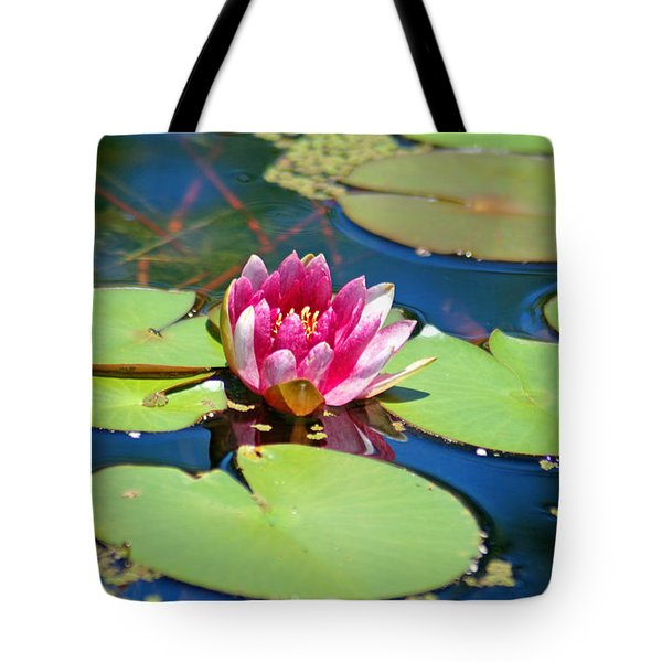 Lily Pond Tote Bag by Donna Bentley