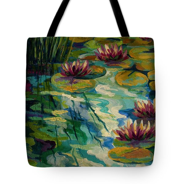 Lily Pond II Tote Bag