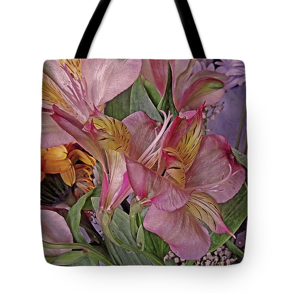 Lily Profusion 7 Tote Bag