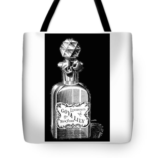 Tote Bag featuring the digital art Lily by ReInVintaged