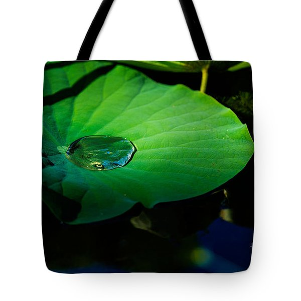 Lily Water Tote Bag