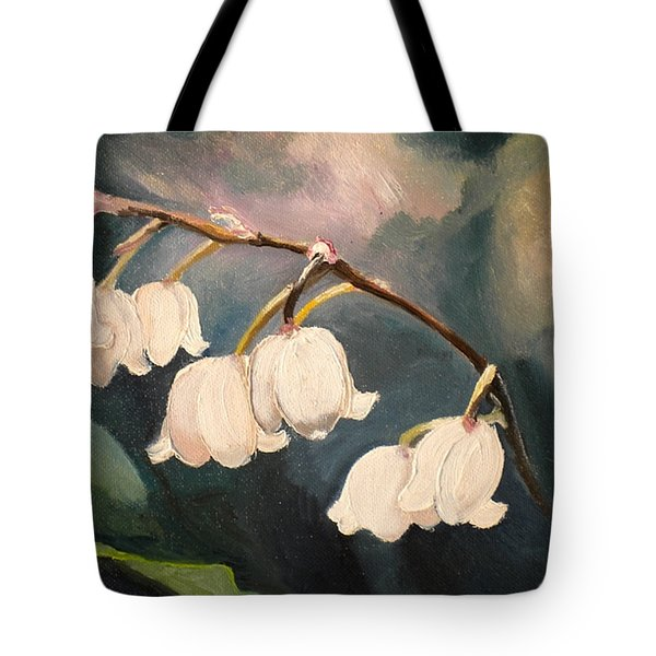 Lily Whites Tote Bag