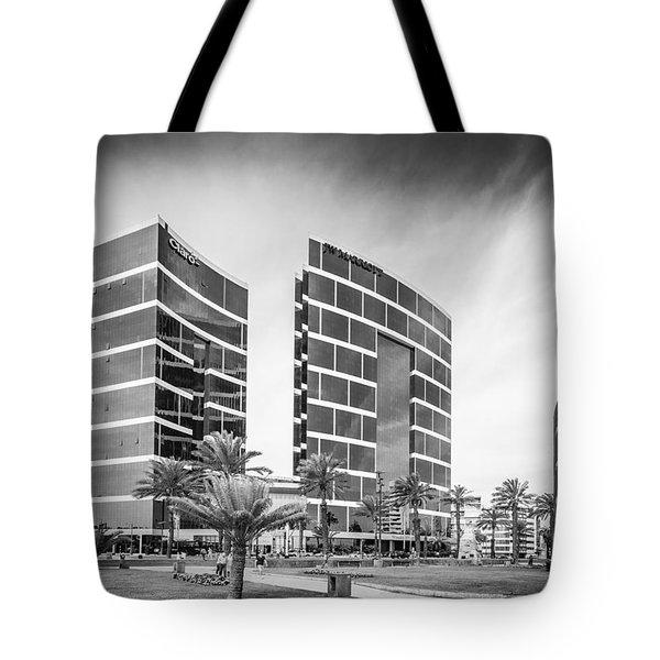 Lima Buildings Tote Bag