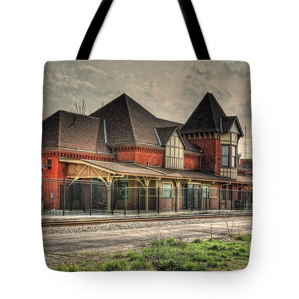 Lima Ohio Train Station Tote Bag