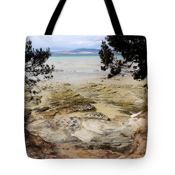 Lime Bay Tasmania 5 Tote Bag