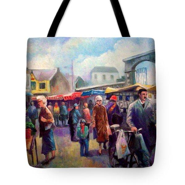 Limerick Market Ireland Tote Bag by Paul Weerasekera