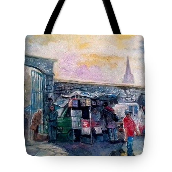 Limerick Old Market  Tote Bag