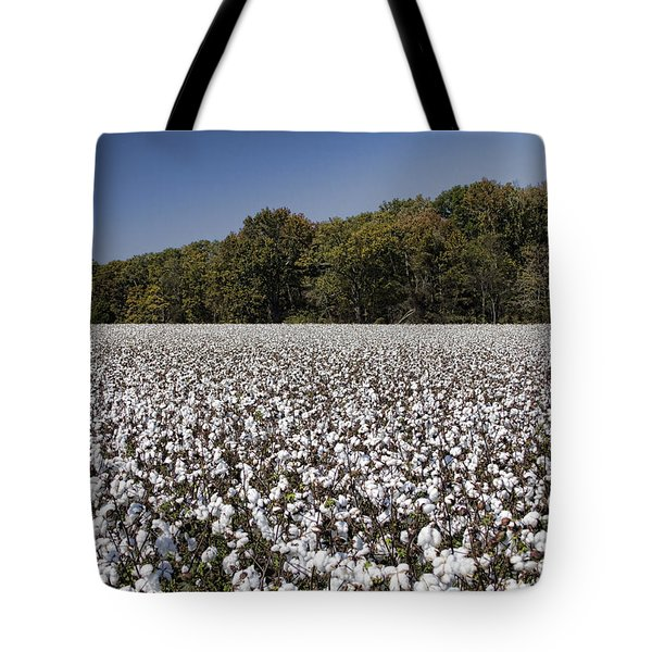 Limestone County Alabama Cotton Crop Tote Bag