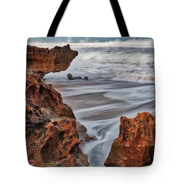 Limestone Ocean Tote Bag