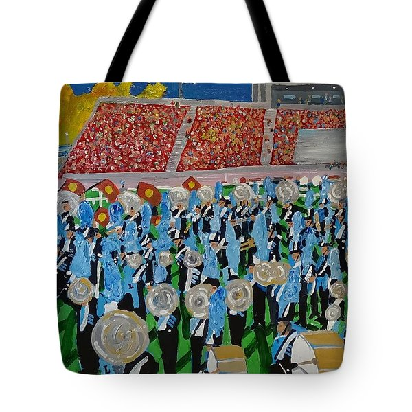 Lincoln Band Tote Bag by Rodger Ellingson
