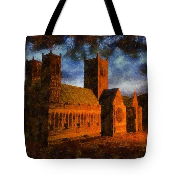 Lincoln Cathedral Tote Bag