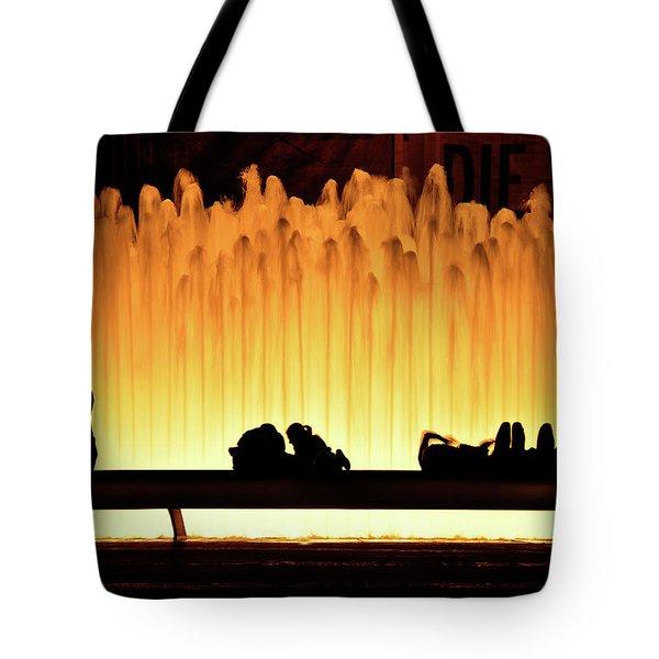 Lincoln Center Fountain Tote Bag