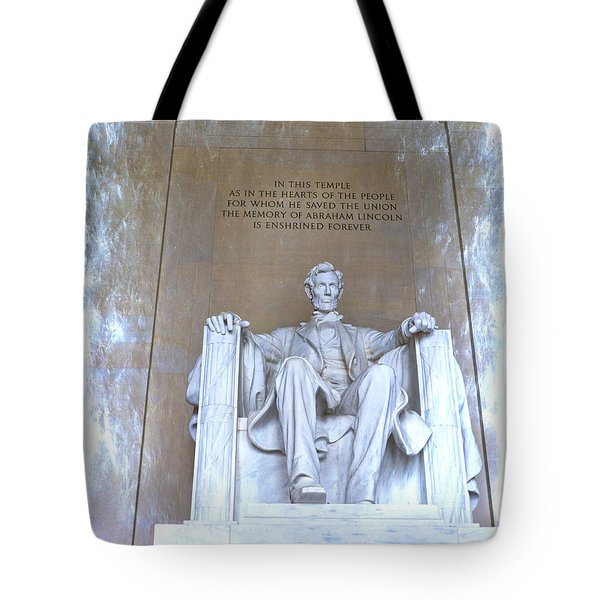 Lincoln In Glory Tote Bag
