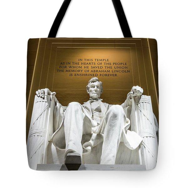 Lincoln Memorial 2 Tote Bag